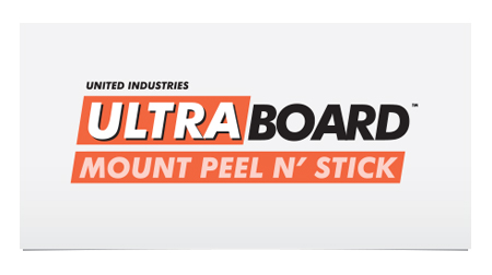 UltraBoard Mount Peel N' Stick