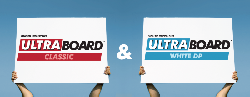 UltraBoard Classic and White DP Comparison
