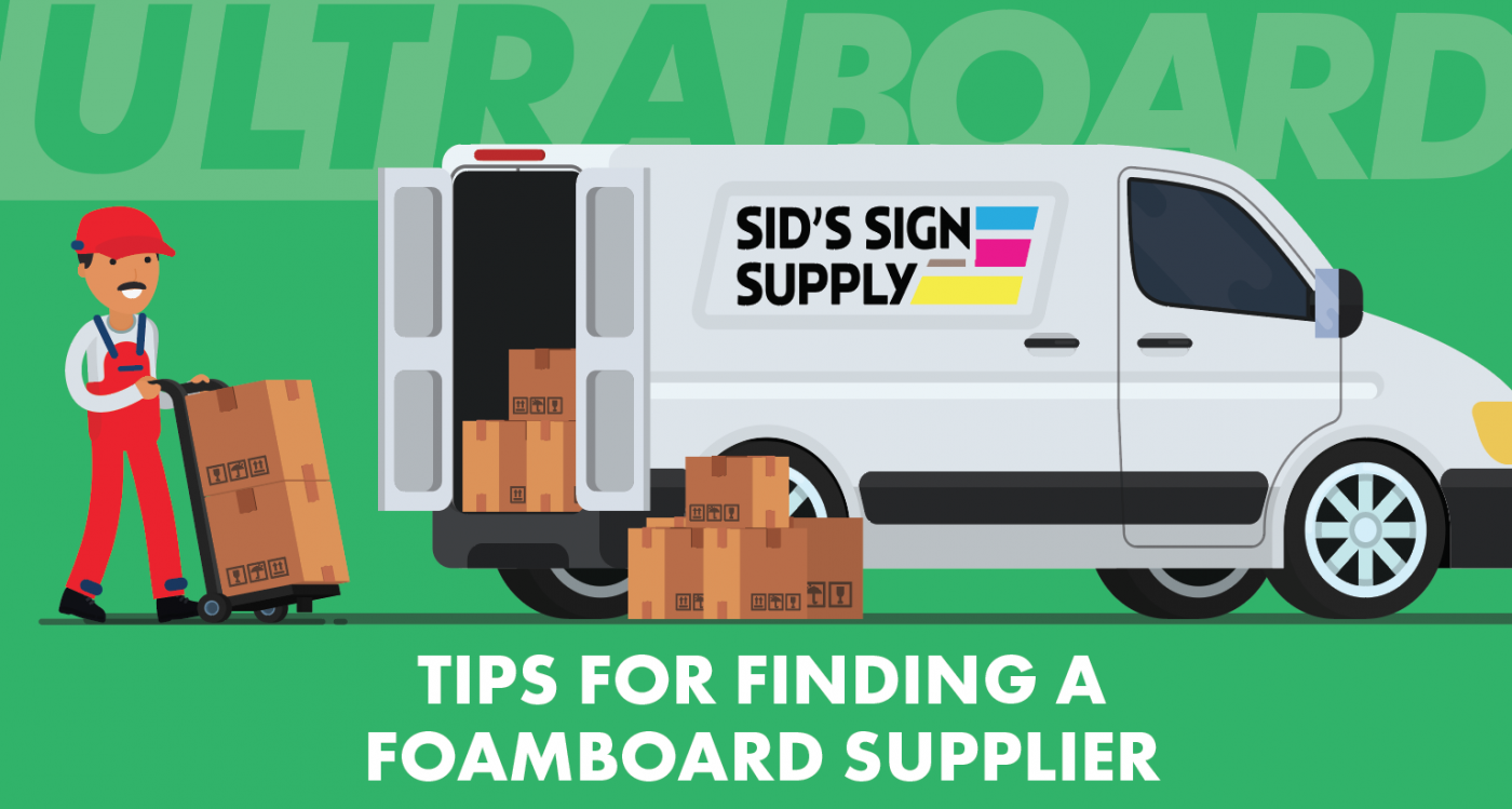 tips selecting foamboard supplier
