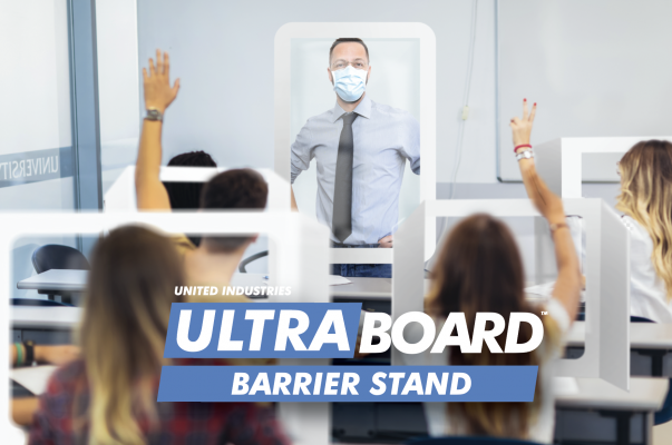 ultraboard_covid-19_barriers_shield_teacher_classroom_school