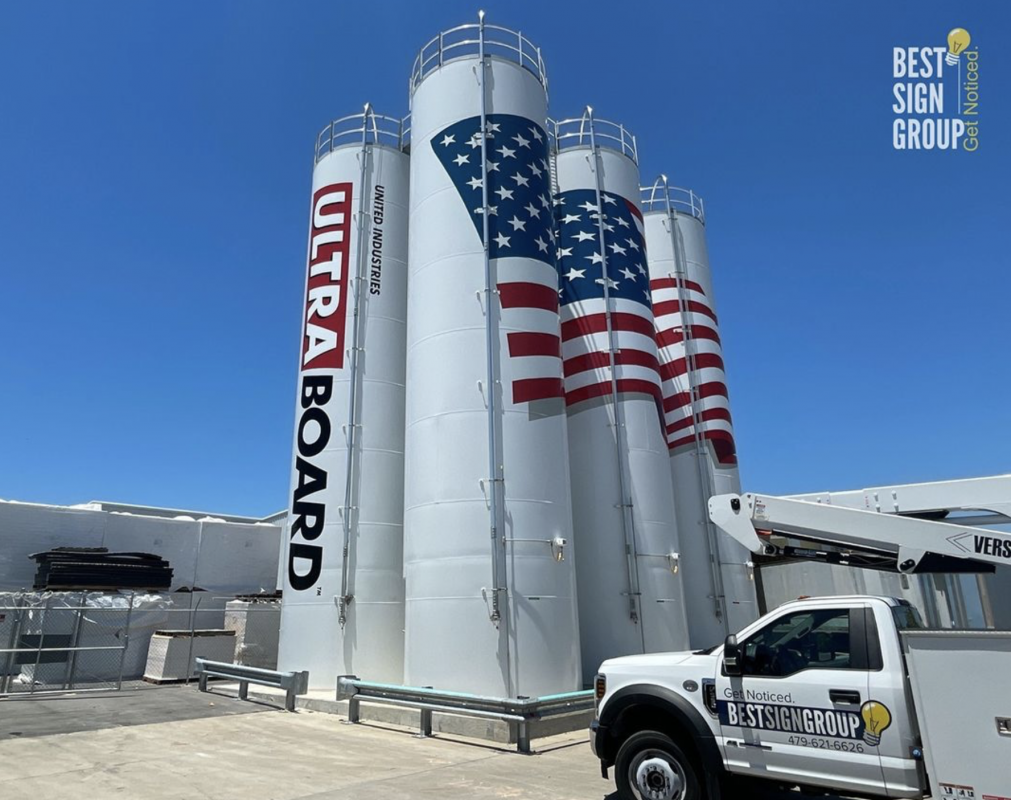 Best Sign Group Silo Wraps